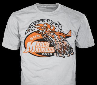 Basketball Team T-Shirt Design Ideas from ClassB