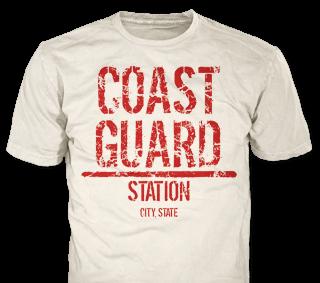 U.S. Coast Guard T-Shirt Design Ideas from ClassB