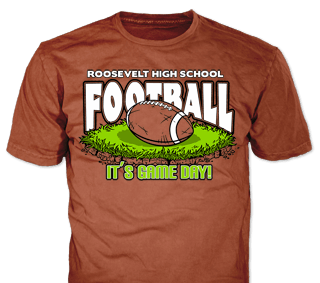 1ba10d836aa6 Football Team T-Shirt Design Ideas from ClassB