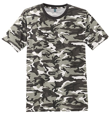 Perfect Weight Crew Tee Winter Camo Tee