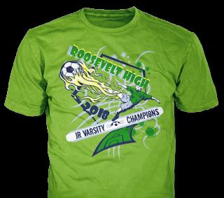 Soccer Team T-Shirt Design Ideas from ClassB
