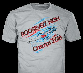 206967323 Swimming Team T-Shirt Design Ideas from ClassB