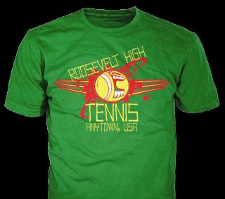 Tennis Team custom t-shirt design