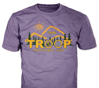 Girl S Troop T Shirt Design Ideas From Classb,Small Rectangular Kitchen Design With Island