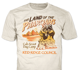 Cub Scout Pack Events T-Shirt Design Ideas from ClassB