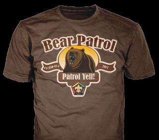 Wood Badge Patrol custom t-shirt design