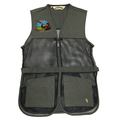 Full Mesh Shooting Vest Sage Color
