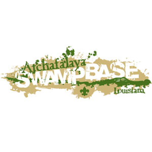 swamp base adventure logo gear for boy scouts