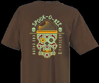 Cub Scout Spooky t-shirt design template
