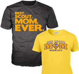 scout mom graphic tees
