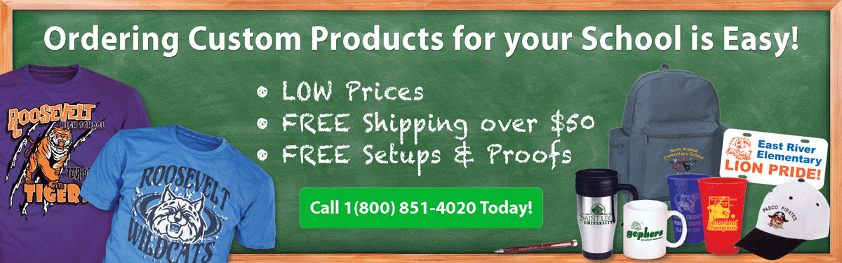 school teacher custom product ordering is easy • low prices • free shipping