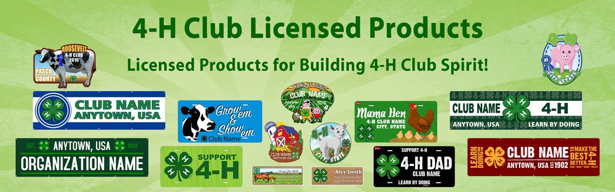 4-H authorized products from ClassB