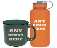 custom drinkware and mug