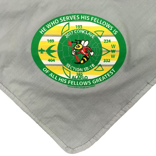 council neckerchiefs for camps and events
