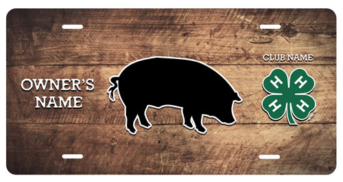 4-h Swine Stall Tag