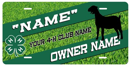 4-h Goat Stall Tag