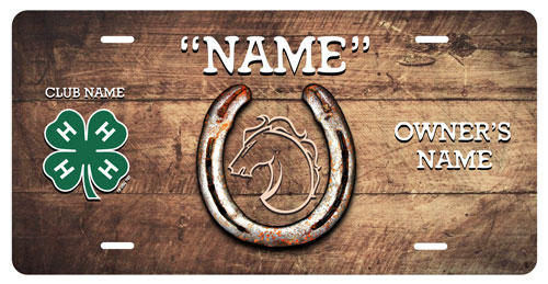 4-h Horse Stall Tag