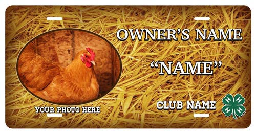 4-h Poultry Stall Tag