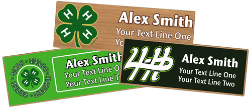 custom name tags for Summer Camp Staff