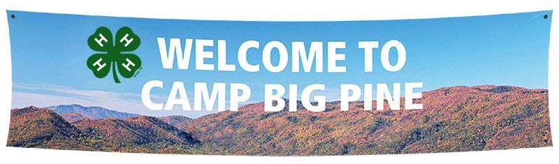 custom vinyl banners for summer camp