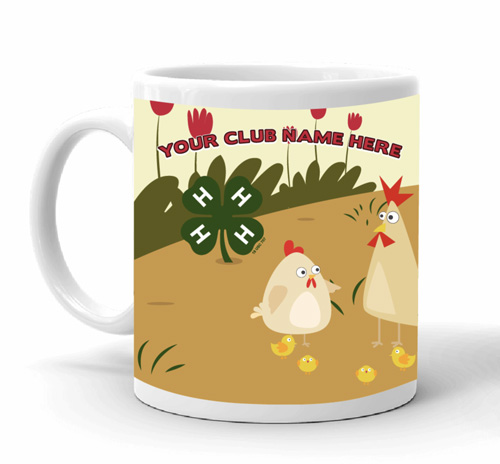 4-H mugs and cups