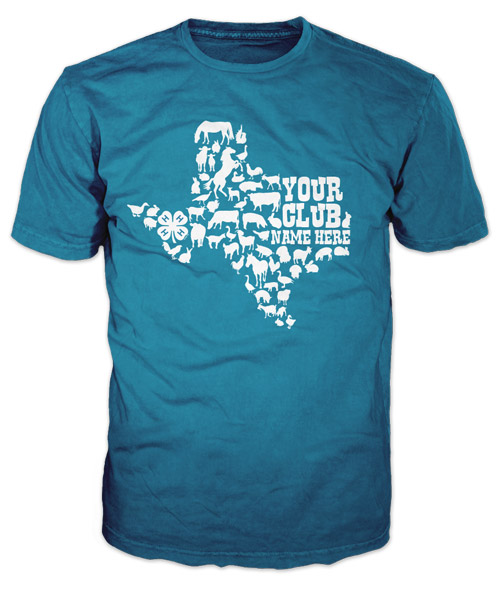 Best One Color 4-H Club T-Shirt of 2020