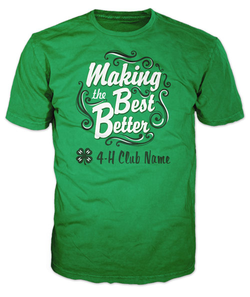 Most Popular 4-H Club T-Shirt of 2020