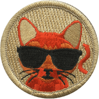 Cool Cat Patrol Patch
