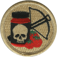 Deadly Spaghetti Sauce Patrol Patch