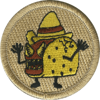 Raging Tacos Patrol Patch