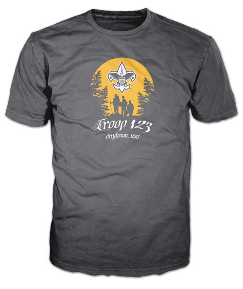 Best Two Color Boy Scout Troop T-Shirt of 2020