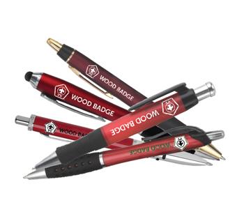 wood badge pens