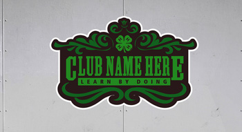 4-H logo trailer graphics