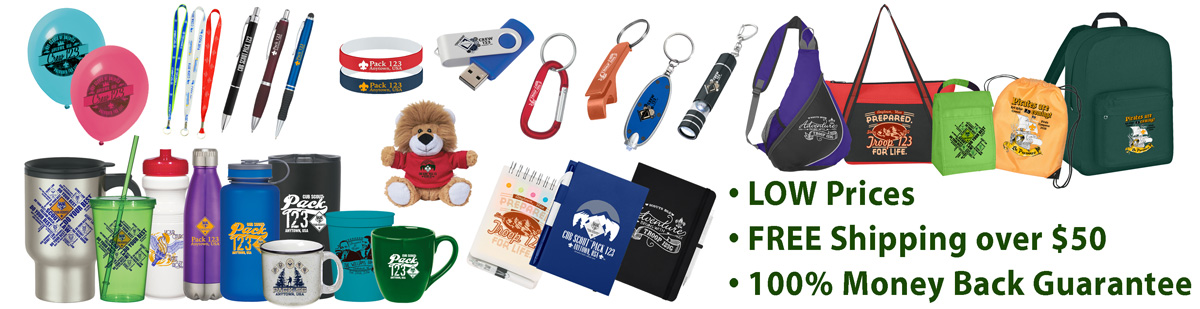 Promotional Products Top Banner