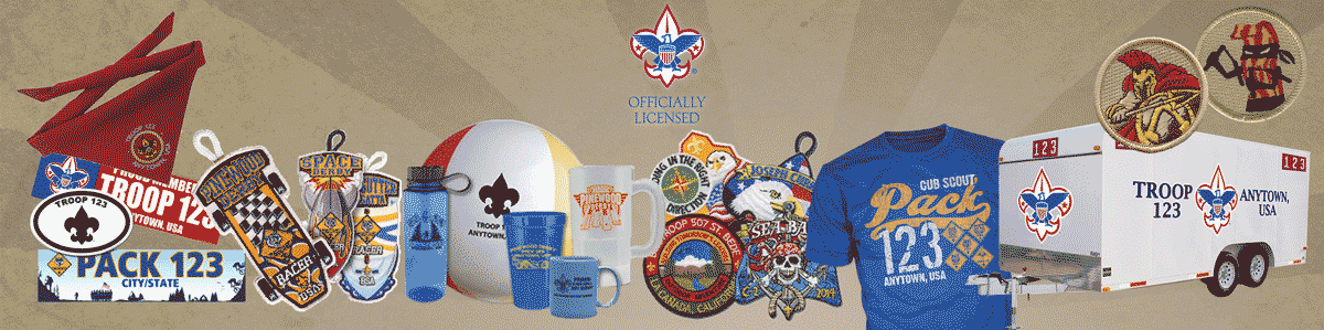 boy scout official licensed products from ClassB