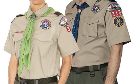 Cub Scout Den leader, cub master Uniform