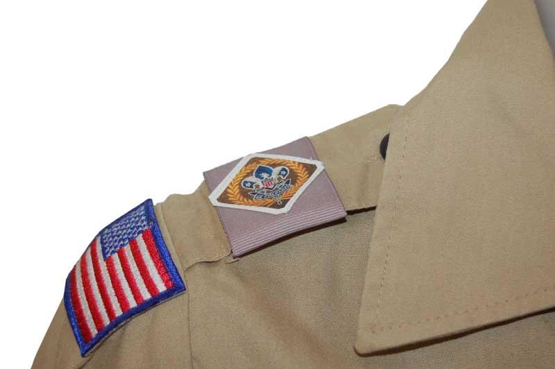 scout uniform Shoulder Loops