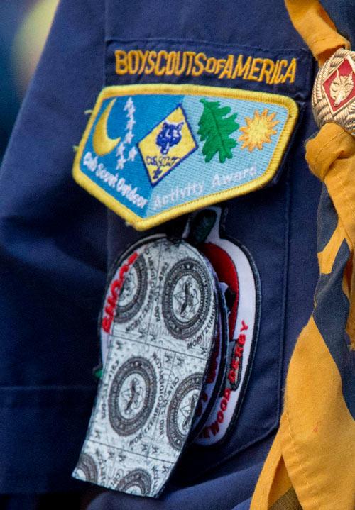 Cub Scout uniform Right Pocket Flap