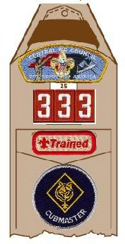 Cub Scout badge of office