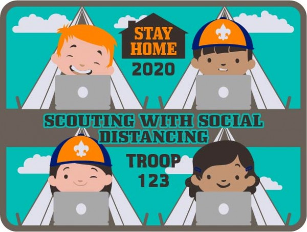 scouting with social distancing design idea