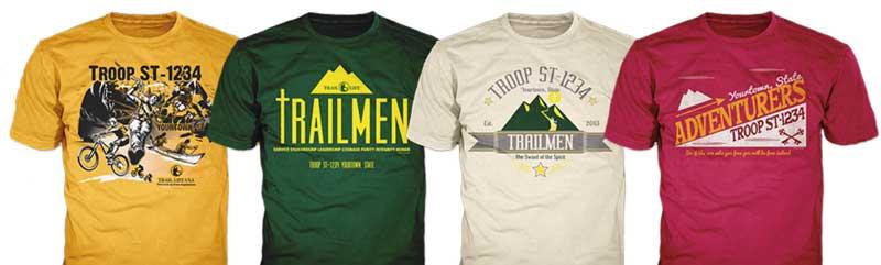 trail life custom t-shirts