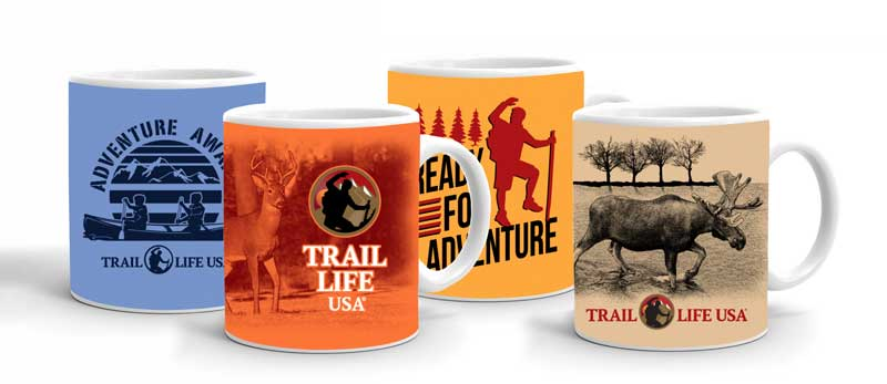 trail life drink ware, mugs
