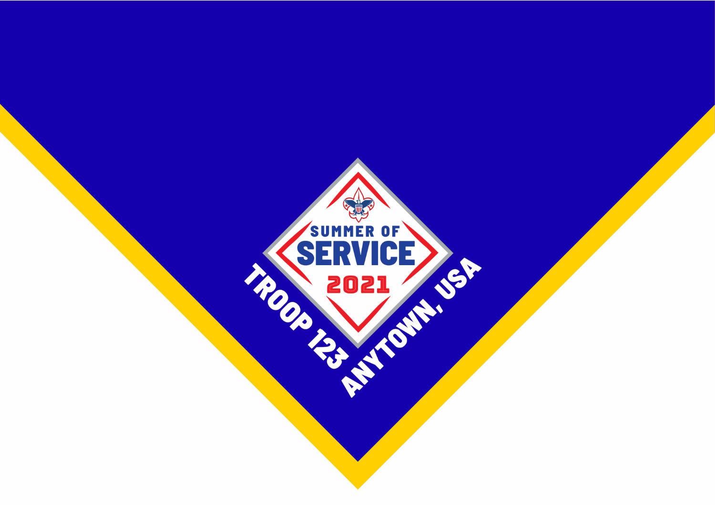 2021 summer of service Neckerchief examples