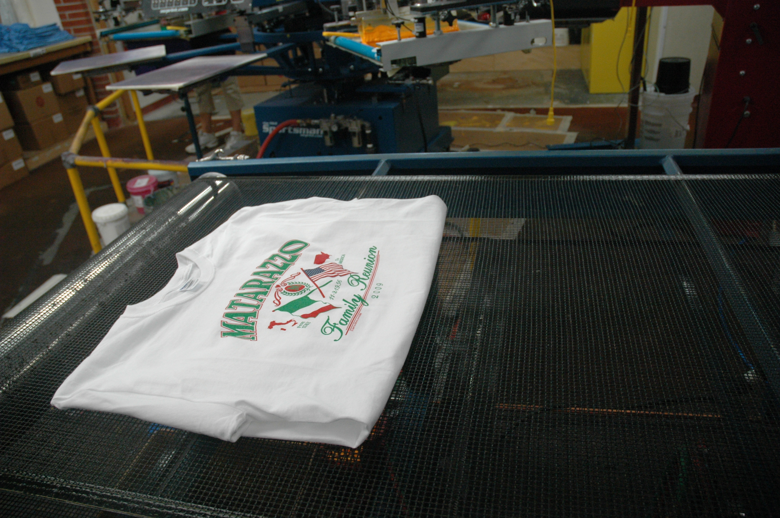 Decoration Methods Screen Printing Digital Embroidery Classb T Shirt Process Flow Chart Green Ink Application And The Curing Processor Shirts