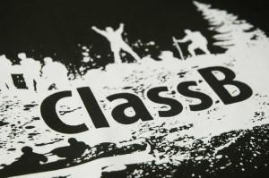 Screen printing example of custom printed t-shirt