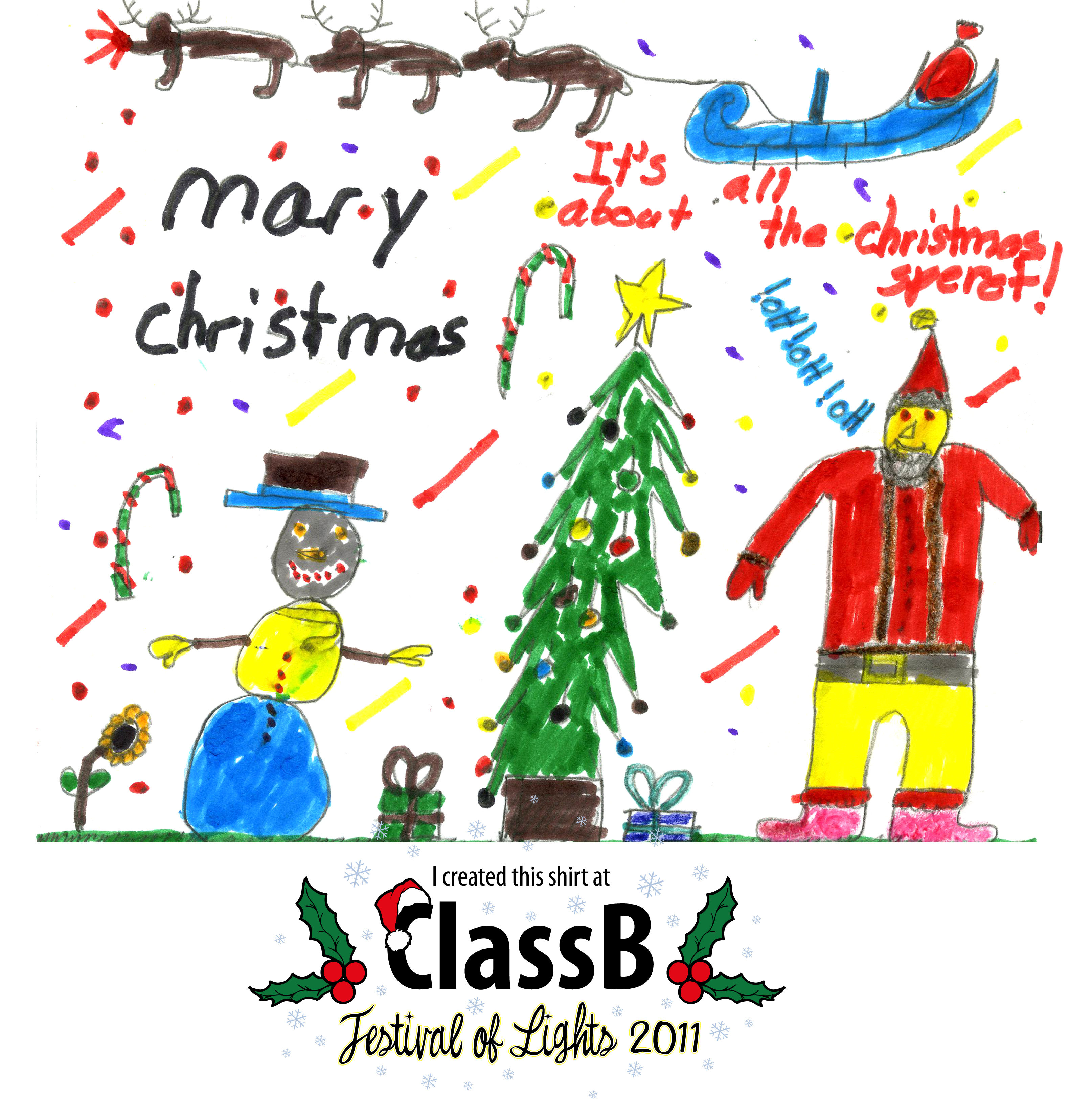 Classb 174 custom t shirts 187 blog archive holiday drawing contest