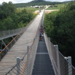 View from the top of the CONSOL Energy Bridge
