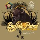 Buffalo wood badge custom t-shirt design SP3255