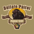Wood badge patrol buffalo custom t-shirt design SP3709