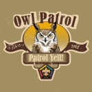 SP3714 Wood badge owl patrol yell custom t-shirt